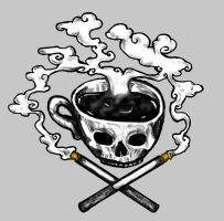 Coffee and Cigarettes by heartfullofhell