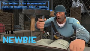 TF2 Player types: The Newbie by Dafuqer7