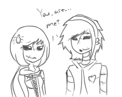 You are... me? by PinkPopcornWithSoda