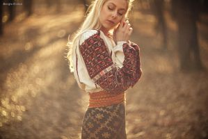 Romanian Folk Costume by Sssssergiu