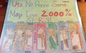 Uta no princess sama 2 by francineli