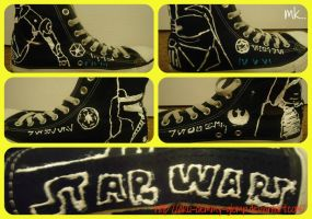 StarWars Shoes by aku-demmy-glomp