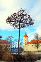 57 The Castle Under the Tree by fantom125