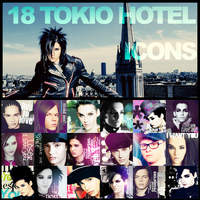 18 Tokio Hotel Icons by ihaveareallycoolname