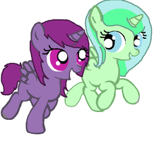 Filly Starlight Singer and Emerald by PokemonBWishesCilan