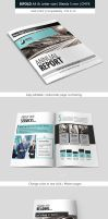 Corporate Indesign Bifold Brochure Template by renefranceschi