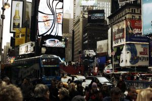 Times Square NYC by omgphotos