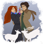 The Potters: Happy Holidays 07 by Tazkia