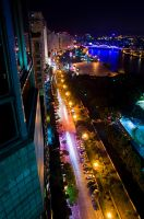 Huizhou by night by StevenLdk
