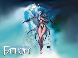Michael Turner's FATHOM by Kenjisan-23