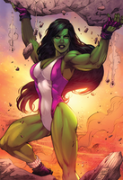 She Hulk by viniciustownsend