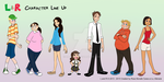 LxR: Cast Line Up by Allenare