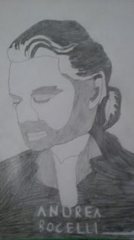 Andrea Bocelli by ofrankie12