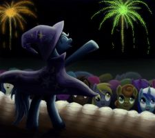 Great and Powerful Show by Fox-Moonglow