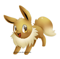 Eevee by SilviShinyStar