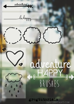 Adventutre Happy Brushes by GregTutorials