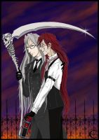 Undertaker + Grell 4 by canaury