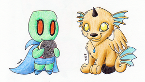 Le Sketchbook Guardians by tessa7338