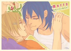 Under the mistletoe by Noiry