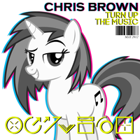 Chris Brown - Turn Up the Music (Vinyl / DJ P0N-3) by AdrianImpalaMata
