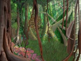 Forest by shrela