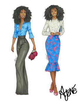 Fashionista Collection | Folake Huntoon by skitzzles