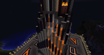 Castle KP Lava Falls 2 (MINECRAFT FORTRESS) by Kingpin2007