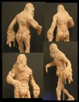 Flesh Guy Sculpture by DaveIgo