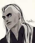 Lacrimosa as a human by mysteriousharu