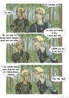 """What if"" Tamlen and Zevran by Adre-es"