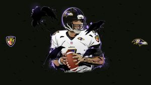 Joe Flacco vector wallpaper by akyanyme