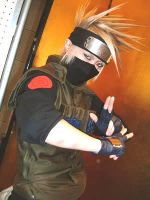 Kakashi Cosplay by Chickenforyou