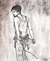 Daryl Dixon by ArtIsResistance