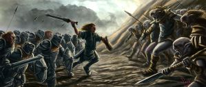 Battle of Azanulbizar by maiwand85