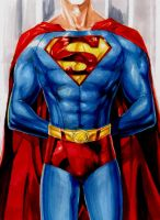Superman Torso by EXTronic-AWilson