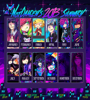 2013 Art Summary by NotDamien
