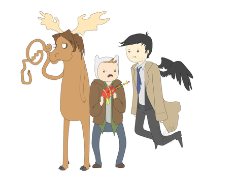 :AT: Supernatural Time! by luckyleo13