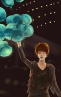 Kyuhyun: Balloons by Fiveonthe