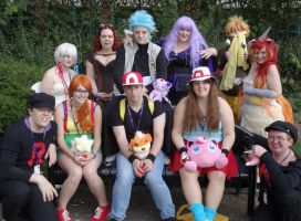 Pokemon Group - Alcon 2014 by curiousrei