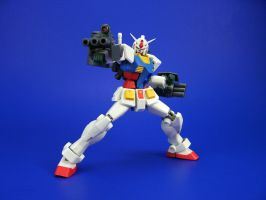 Robot Damashii - RX-78-2 W/Gouf Supplies 2 by Lalam24