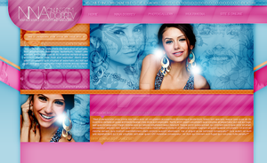 Nina Dobrev Layout by littlebutterflyxxx