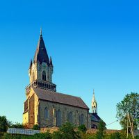 The village church of Haslach I by patrickjobst