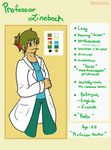 Character Sheet 01 | Professor Hecker by herpsydaisy