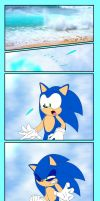 Sonic's Epic Face by Pennyadodumuss