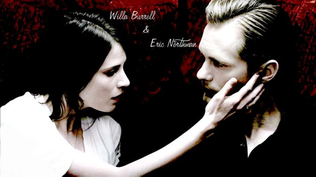 TRUE BLOOD: Willa Burrell and Eric Northman by dimakosrou