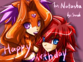 Birthday gift to Natasha by ZiyoLing