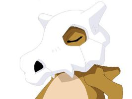 +Cubone+ by FoxDemon12
