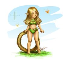 Elf for Lineage II by Amales