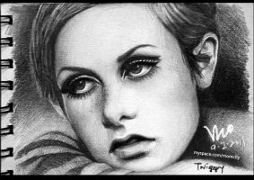 Twiggy drawings by mcglory