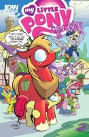 MLP issue 9 Big Mac and Applebloom by andypriceart